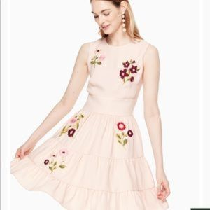 Embroidered dress by Kate Spade